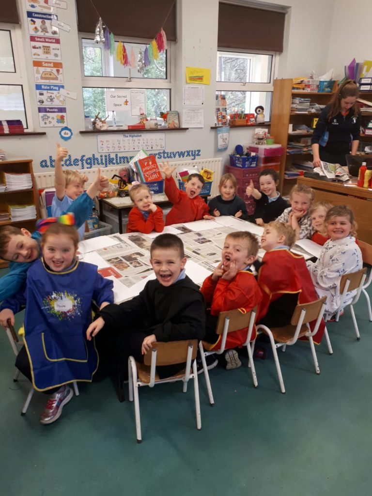 Busy Bees in Junior Infants