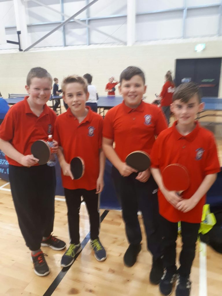 Munster Schools Table Tennis 2018
