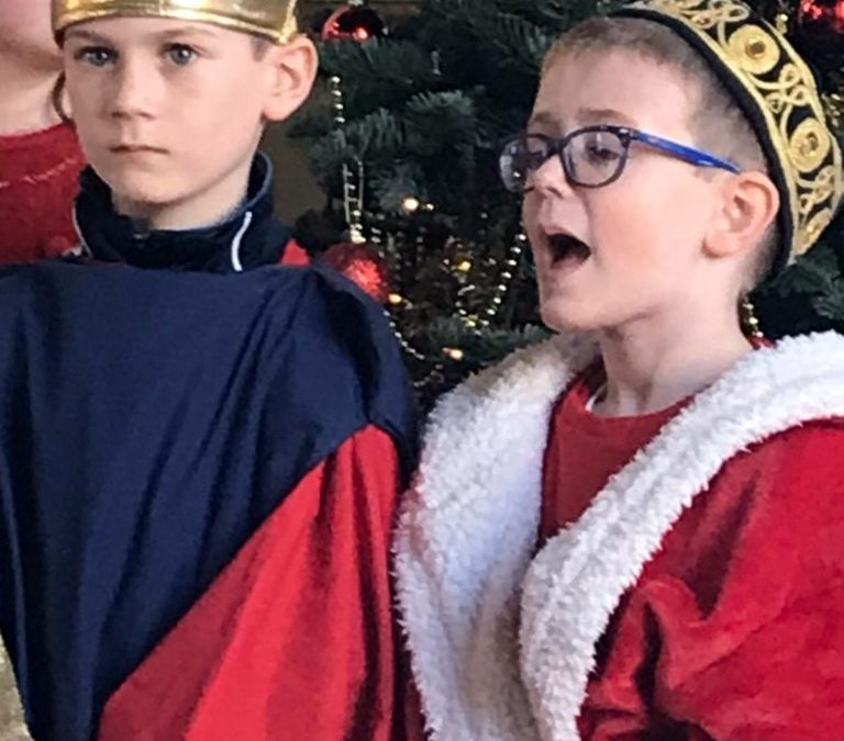 1st – 6th class putting on a spectacular performance during their Christmas Concert 2019