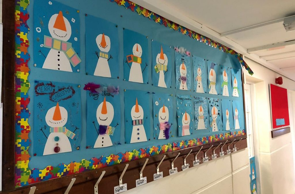 Winter Art in 4th and 5th