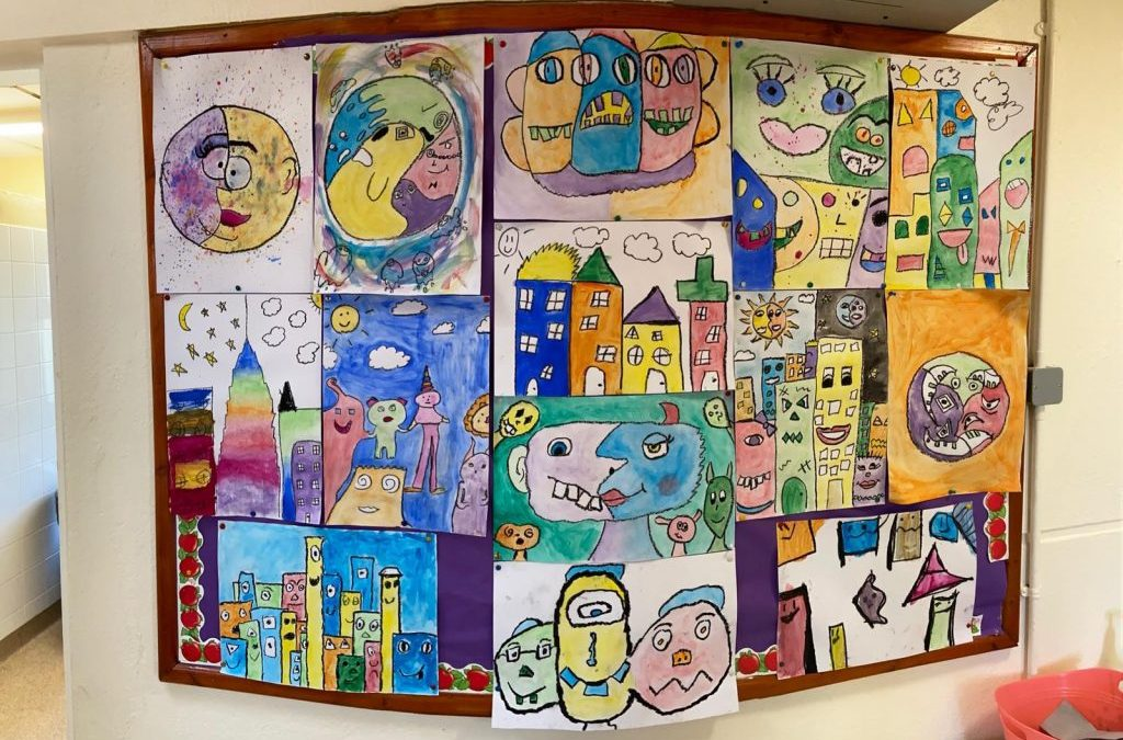 6th Class Masterpieces!