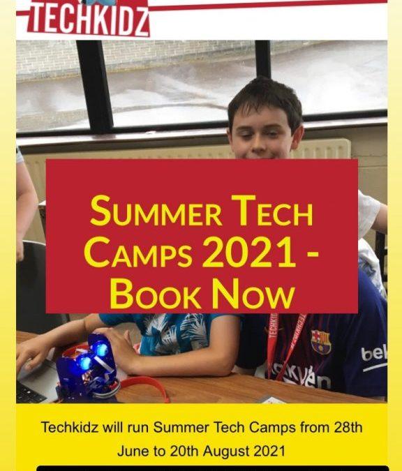 Tech Kidz Summer Camp